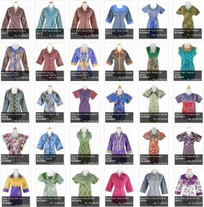 Tips Memilih Baju Batik Wanita Untuk Tubuh Kurus by